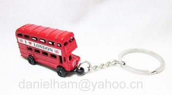 2012 London olympic souvenir ,red metal LONDON BUS keyring,free shipping