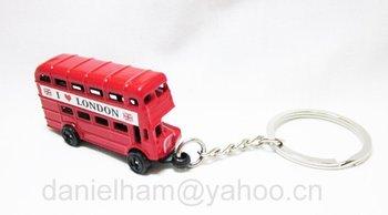 UK London keyring 2012 London Olympic souvenirs 2014 new red metal London bus key ring free shipping