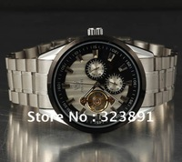 free shipping 2013 style new mens Automatic Mechanical stainless steel wrist Watch