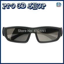 Free shipping 4pcs/Lot 3D polarized glasses for LG 3D TV