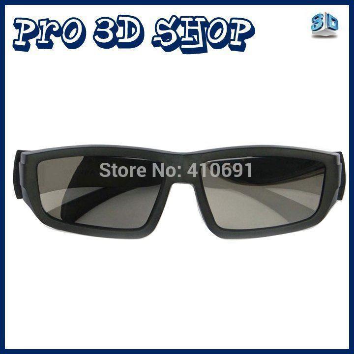 Free shipping 4pcs/Lot 3D Glasses Passive Polarized for LG Passive 3D TV(China (Mainland))
