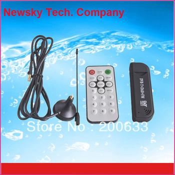 Popular Mini Digital USB 2.0 DVB-T HDTV TV Tuner Stick&Dongle&Receiver Free Shipping