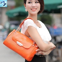 fashion bags women famous brands 2013 new crocodile pattern handbag shoulder bag messenger quilted handbag Specials 714