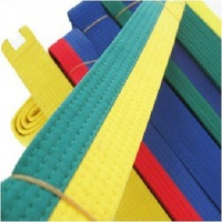 quality goods new taekwondo standard  belt  double color 2.2m and 2.8m available 1 piece