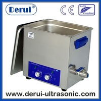 Mechanical ultrasonic cleaner  with timer and heated DR-MH100 10L stainless steel Derui