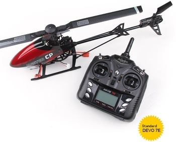 Master CP helicopter wtih DEVO 7E transmitter  2.4ghz 6ch 3D gyro radio control RTF helis New Walkera