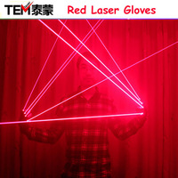 Red Laser Gloves With 4pcs 650nm 100mw Laser,Disco laser gloves,For DJ Club/Party Show