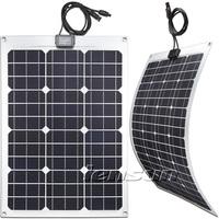 UK STOCK 30W flexible solar panel,Fast Ship,NO custom tax !!! WHOLESALE