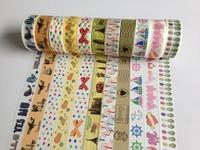 1627 ! designs Free shipping cut rice paper Masking Tape, Japan paper Tape  DIY  150pc/Lot