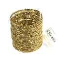 Fashion jewelry women beads cuff bangles free shipping