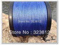 Wholesale - free shipping blue  dyneema braided fishing line fishing tackle 2000M 8LB--80LB