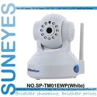 SunEyes SP-TM01EWP ONVIF 720P HD Wireless Wifi Network IP Camera with TF/Micro SD Card Slot