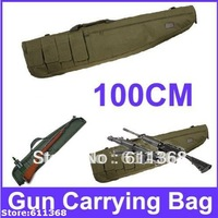Promotion Good   Cheap100cm Nylon Heavy Duty Guns Carrying Bag/Rifle Case Military Green