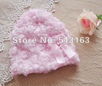 Wholesale children Hat Baby Hat Plush Cap Hat Scarf pink