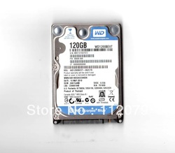 "Free shipping NEW WD 2.5"" SATA 120GB 5400RPM,8M,9.5MM WD1200BEVT Hard Drive for laptop 1year warranty(China (Mainland))"
