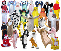 2014 New Arrival Free Quick DHL Shipping Totoro Kawaii Animal Onesie Pajamas For Christmas and Halloween Party Costume
