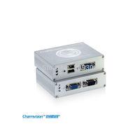 Charmvision EKU100HR, 100 meters USB KVM extender, USB Mouse USB Keyboard VGA extender, KVM Transceiver, KVM Remote Controller