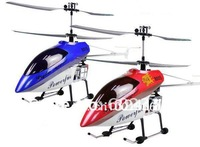 Free Shipping Deluxe 105cm 3.5ch Gyro System Metal Frame RTF QS8005 RC Helicopter qs 8005 Toy with LED lights W/O BATTERY
