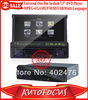 "New Arrival One Din In-dash 7.5"" Universal Car DVD Player /MPEG-4/GAME/FM/SD/USB (SUNPLUS+Hitach:1200W+AU"")  Free Shipping"