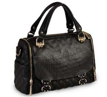 Promotion New 2013 Fashion Designer Plaid Brand Handbags Genuine Leather Cowhide Women Messenger Bag Vintage Shoulder Bags D2