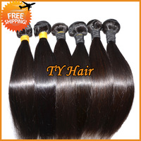 5A unprocessed virgin brazilian hair extension remy human hair weft,brazilian virgin straight hair 3pcs/Lot,queen hair products