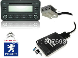 Yatour Peugeot Citroen RD4 RT3 Can-bus Digital MP3 USB SD AUX telephone adapter (CD Changer alternative) -bluetooth enabled(China (Mainland))