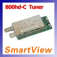 1pc DVB-C tuner for  DM 800hd  800 HD-C  800C DVB-C  cable receiver free shipping