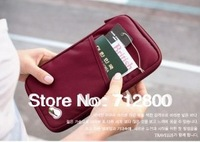 1pcs/lot High Quality Travel Passport Credit ID Card Cash Holder Organizer Wallet Purse Case Bag 4 Colors