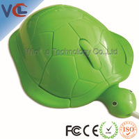 hot selling ! Turtle shape 3d computer mouse with patent, CE, FCC and ROHS standard