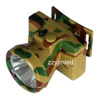 Fashion Camouflage LED Headlamp Rechargeable Headlight (Free shipping)