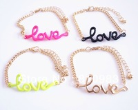 New fashion Love gold design bracelets jewelry manufacturer free shipping