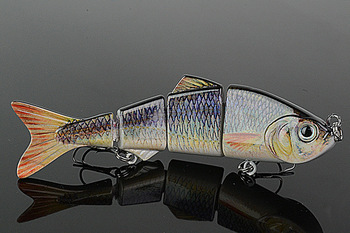 Available ODS-BIAN-S  Fishing Lure Hard Bait spinner bait minnow fishing lures Fishing Tackle Popper