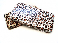 Cheapest promoted price, Free shipping (2pcs/lot) Hot sale fashion wallets women leopard purse(WS009)