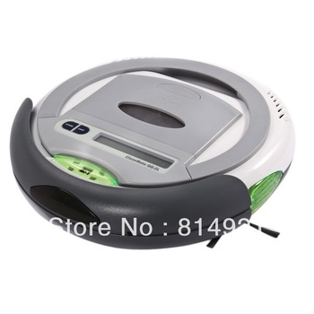 (Free to   United Kindom) Robotic vacuum cleaner ,Schedules function,auto-charege cleaner,origina design,good quality,Low noise