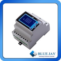 RS485 port, harmonic measurement active and reactive power energy meter
