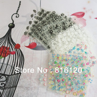 Free shipping+New Fashion (50 Sheets Different styles/pack) DIY 3D Decal Stickers Manicure Tips Nail Art Sweet