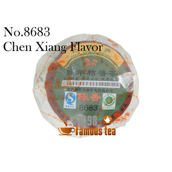 Promotion!Yunnan Old Orange Puer Puerh Pu'er tea 8683 Ripe Tea Original Health Tea Beauty Loss Of Weight Free Shipping
