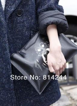 New Fashion Rottweiler Dog Print day Clutches for Ipad Stylish Women's Handbags Purse Wallets bags Handbag#B0007