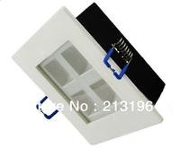 DHL Free Shipping 4W Square Recessed Led ceiling light/4w Led lattice Light