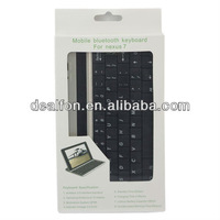 Slim Design bluetooth keyboard for Google nexus 7