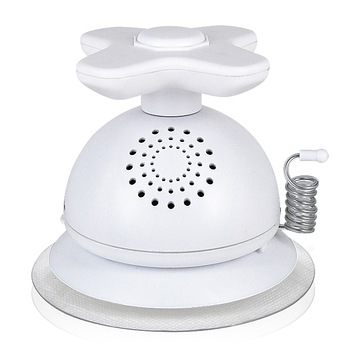 AM FM WATERPROOF Splash Proof BATHROOM SHOWER TAP RADIO Built-In Speaker SUCTION CUP White