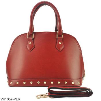 5 Color 2015 Handbag Vintage Studded Soild Top Quality Women Bag Bolsas Femininas Desigua Bag Handbags VK1357