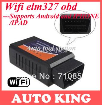 wifi elm327  ELM327 ELM 327 OBDII OBD2 WiFi Diagnostic Wireless Scanner iPhone, iPad, iPod Touch Win0020 WIFI327 free shipping