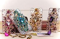 Bling Rhinestone Angel Tear Case Luxury DIY Diamond Handmade Crystal Back Cover for iphone 6 plus