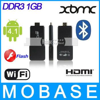 Black Color XBMC Bluetooth iMito MX2 Google TV Box RK3066 1G/8G Android 4.1 Dual Core Cotex A9 Quad-Core GPU WiFi HDMI 3D Gaming
