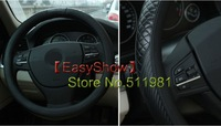 Carbon fibre and leather  car steering wheel covers for Mitsubishi Outlander,ASX,Toyota RAV4,Camry,Highlander,auto accessories