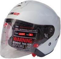 LS2 Dual Visor System open face helmet  Carbon fiber shell  jet helmet