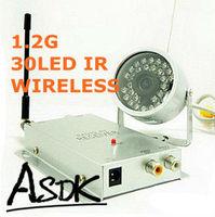 1/4 CMOS 420TVL Waterproof Vandal proof Outdoor Night Vision Video Audio Wireless 30IR Color Surveillance Camera