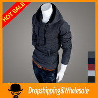 Free Shipping  Men's Top Brand New Winter Sweater Hoodies Dress Coat Mens Sports Casual Sweatshirt Jackets Outerwear M-XXL X-346