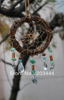 new arrival  TWILIGHT New Moon natural cane dream catcher with chief pendant